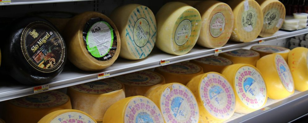 Portuguese Cheese by the wheel