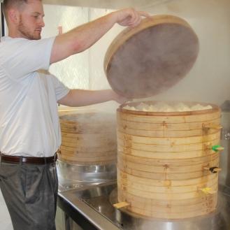 Steaming Bao