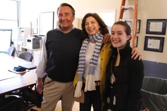 Waterman Brown, Lisa Raiola and Maya Wilson