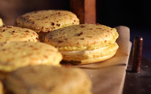 Honey-Chamomile Macarons