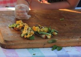 Beehive Cafe: Squash Tartine