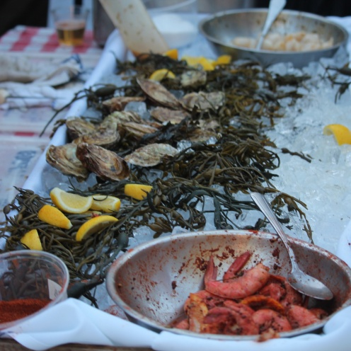Walrus & Carpenter Oysters, Barbecue Shrimp from New Rivers