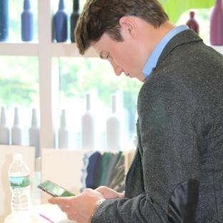 Dan taking notes