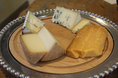 Cheese selections